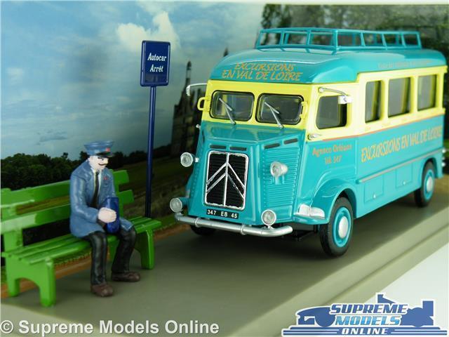 CITROEN TYPE H MODEL BUS VAN 1 43 SCALE IXO UTILITAIRES TOURIST HOLIDAY AUTO K8
