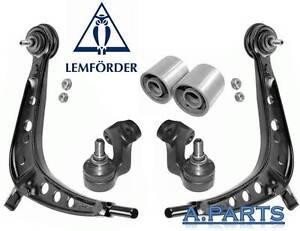 LEMFORDER-REP-SATZ-QUERLENKER-6Tlg-KOMPLETT-VORDERACHSE-BMW-3er-E46-325X-330X
