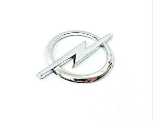 OPEL-Insignia-Emblema-de-cromo-plateado-con-el-logotipo-con-la-etiqueta-Engomada-de-85mm-X-60mm