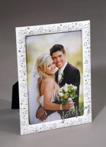 ZEP Sonia Portraitrahmen Weiß aus Metall  E81157  13x18cm zum Stellen