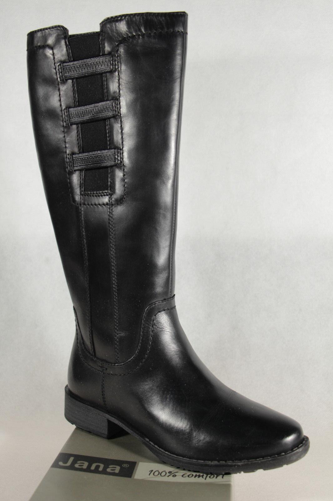 Zapatos de mujer baratos zapatos de mujer Jana botas botas bota botas Jana botín botas de invierno negro 25601 nuevo 433dfe