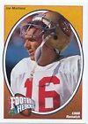 1991 Upper Deck Joe Montana #5 Football Card