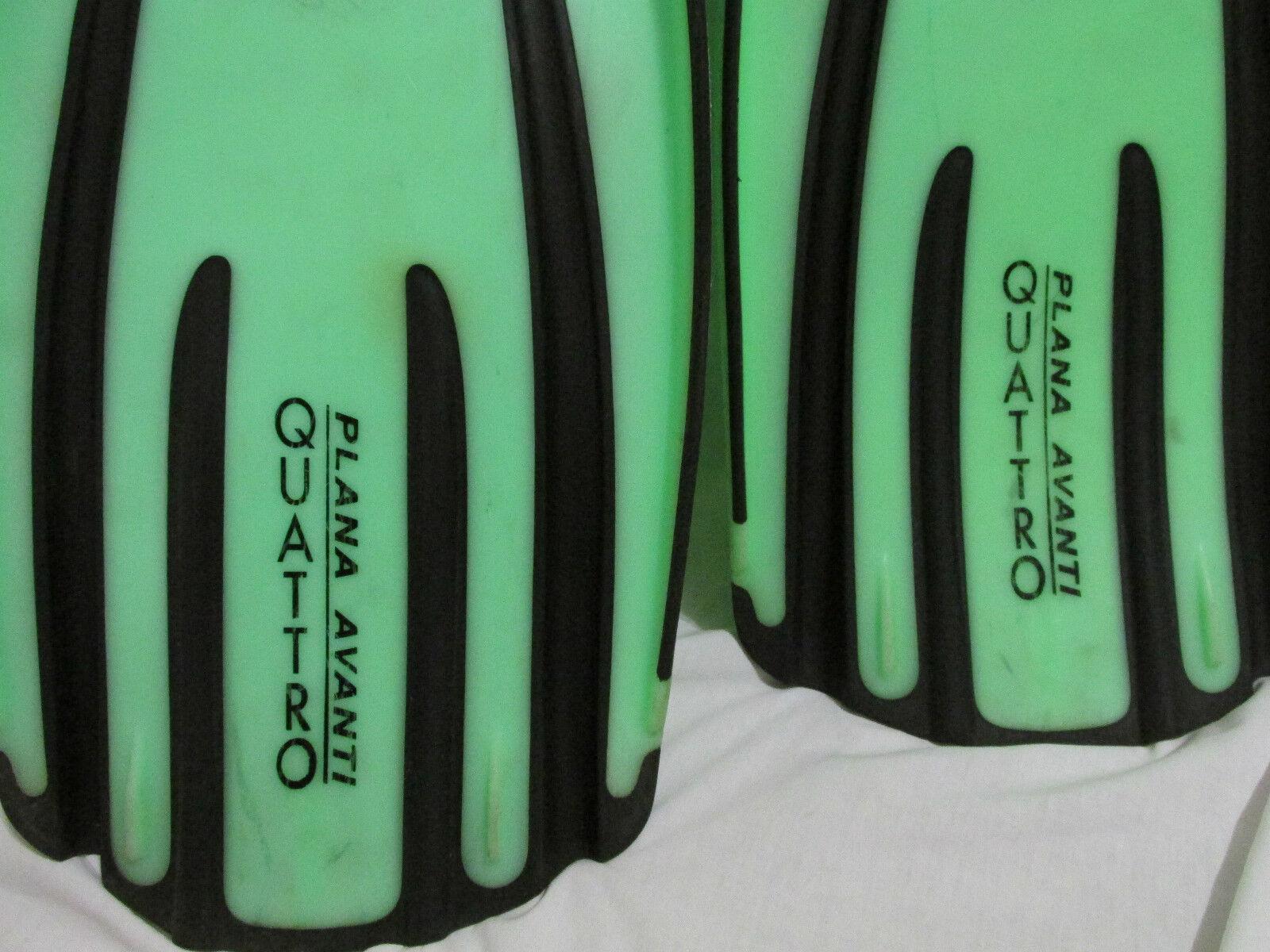 Mares Plana Plana Plana Avanti Quattro Gerätetauchen Tauch Wasser Flossen Limone Grün & XL d03bbd