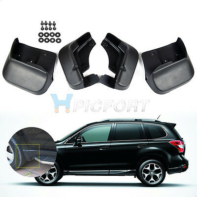 Mud Flaps Splash Guard 4pcs For 2008-2011 2012 2013 Subaru Forester Mudguard