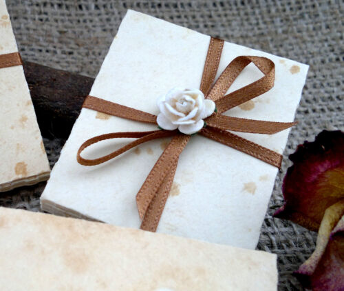 Perfect toppers wedding favours Miniature Tiny Envelopes many designs