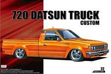 AOSHIMA The Tuned Car No.22 Nissan 720 Datsun Truck Custom 1982 1/24 Scale Kit
