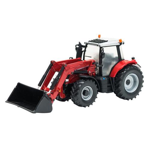 BRITAINS Massey Ferguson 6616 Tractor /& Loader 1:32 Diecast Farm Vehicle 43082A1