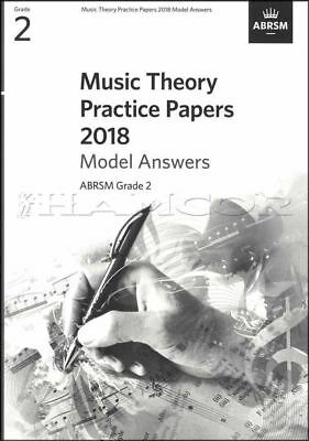 Sheet Music & Song Books Music Theory Practice Papers 2018 Model Answers Abrsm Grade 2 Same Day Dispatch Preventing Hairs From Graying And Helpful To Retain Complexion