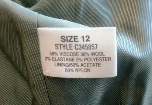 Black 1940 stile gonna Linea Fraser pantaloni of Giubbotto Green House dXw0qMM4