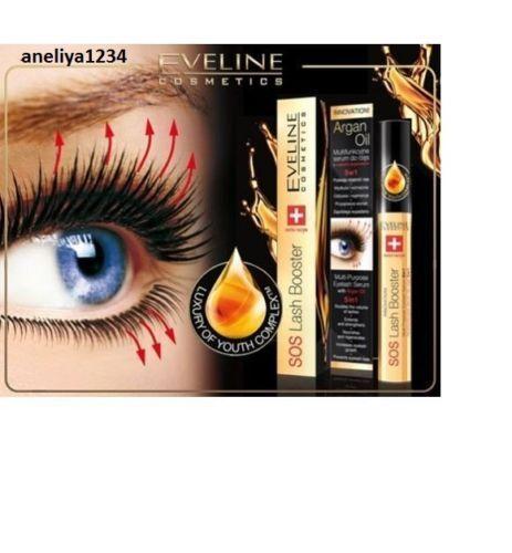 ba5c1abde37 Eveline SOS Lash Booster Multi-Purpose Eyelash Serum 5 in 1 with Argan