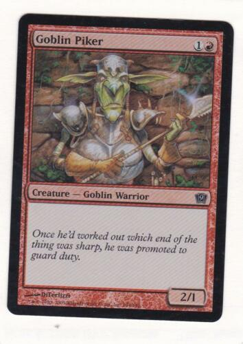 9th Edition Goblin Piker Foil MTG