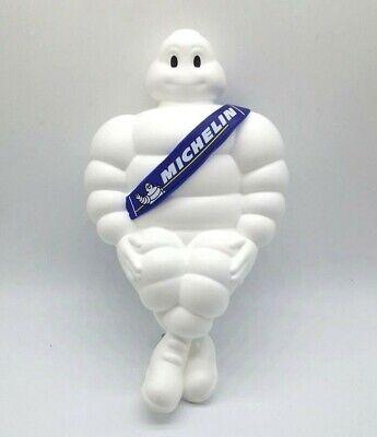 "2 x 8/"" Michelin Man Bibendum Tire Figure Doll Pink Helmet Truck Decor Advertise"
