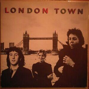 Wings-London-Town-1978-Vinyl-LP-064-60-521-Texte-Paul-McCartney