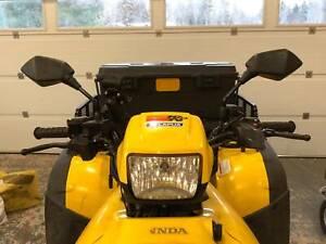 Pair-UTV-ATV-Rear-View-Side-Mirrors-10mm-for-Honda-Rubicon-Rincon-Recon-TRX-250X