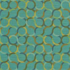 Arc/com Spin Baltic modern contemporary circles Vinyl Upholstery Fabric