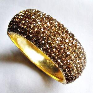 Exklusive-Kristall-540-Stueck-Armspange-Gelbgoldbeschichtet-60-x-58-mm