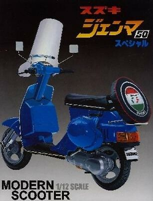 SCOOTER SUZUKI GENMA CS50-DG KIT AOSHIMA 1//12 n° 37690