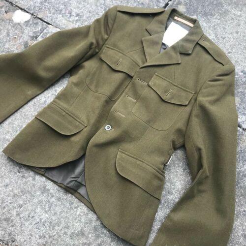 non Boutons Mod Armée Surplus Kaki Écossais Regts No.2 Robe Uniforme Tunique