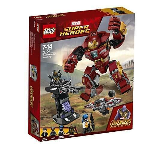 LEGO The Hulkbuster Smash-Up, Age 7 - 14 Years