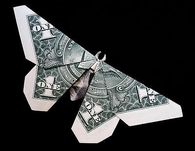 Money Origami Butterfly : 14 Steps (with Pictures) - Instructables | 311x400