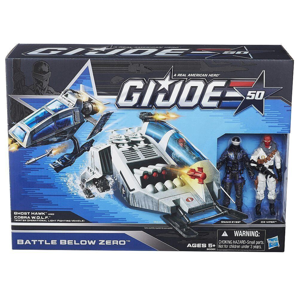 G.I. Joe Battle Below Zero Set 50th Anniversary NEW SEALED