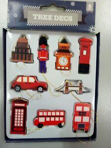 Christbaumschmuck London 9 Teilig Ebay
