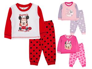 Baby Boys Girls Pyjamas Toddlers Disney Mickey Minnie Mouse Pjs Size ... 7217c0950