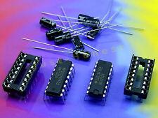 KIT: 2x MAX 232 N + 8x 1uf condensatori/Capacitor rs232 serial driver #a176