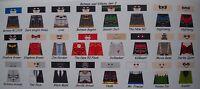 Lego Custom Minifig Glossy Decals Dc's Batman And Villians Set 2 24 Figure Lot