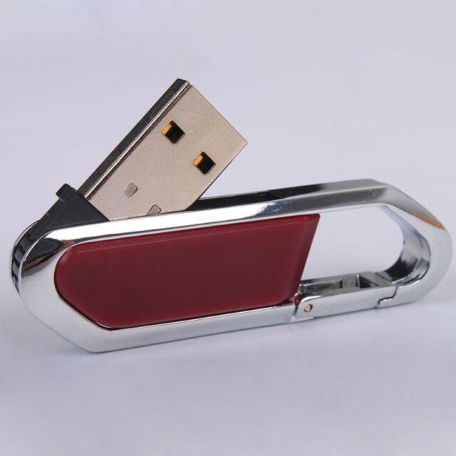 New 4-32GB Key Chain USB 2.0 Flash Memory Pen Drive Stick u disk thumb drive