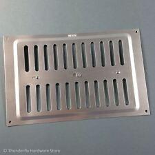 """Hit & Miss Air Ventilation Grille 9"""" x 6"""" Aluminium"""