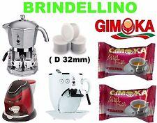 600 Capsule GIMOKA GRAN BAR INTENSO compatibili Mokona Bialetti Gimoka Casa 32mm