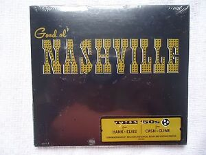 Details about GOOD OL' NASHVILLE THE 50's OLD FROM HANK TO ELVIS SONY MUSIC  CD