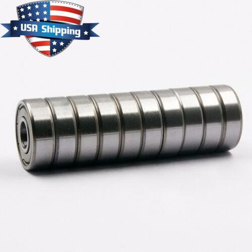 20PCS 608-ZZ Ball Bearing Dual Sided Metal Shielded Deep Groove