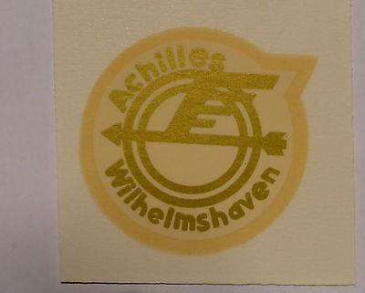 Auto & Motorrad: Teile Aufkleber Achilles Schriftzug Wasserabziehbild Abziehbild 35mm 06000a Gold AusgewäHltes Material
