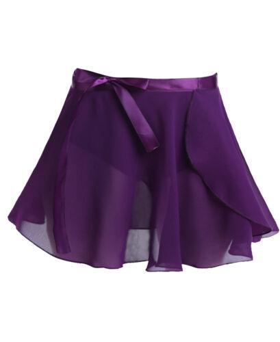 UK Girls Ballet Dance Leotard Skirt Mesh Tutu Dress Ballerina Gymnastics Costume