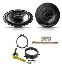 Mercedes C Class W203 00-06 Pioneer 17cm Front Door Speaker Upgrade Kit 240W