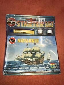 AIRFIX-MAYFLOWER-Starter-Set-New-And-Sealed