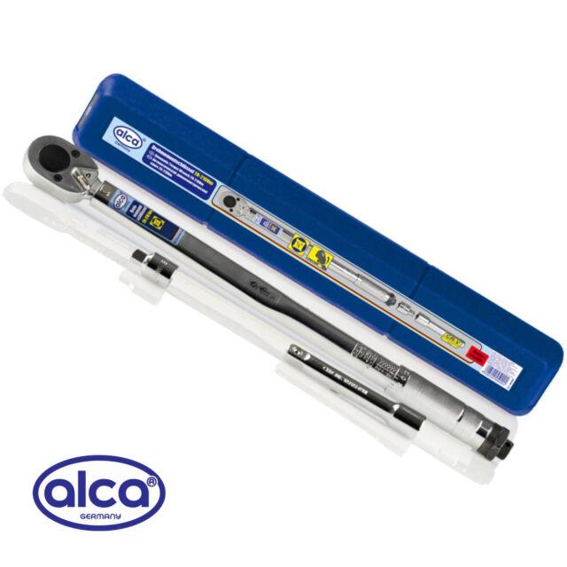 Quality Drive TORQUE WRENCH Ratchet Chrome Vanadium 1 2 28-210Nm alca Germany®
