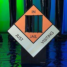 MONOPOLY JUST VISITING JAIL STANDEE * birthday * monopoly game party  *