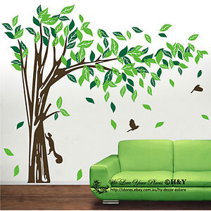 Image Is Loading Jungle Tree Removable Wall Art Stickers Kids Nursery
