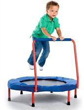 Mini Fold & Go Trampoline Indoor Outdoor Folding Exercise Galt Kids Handle Pad