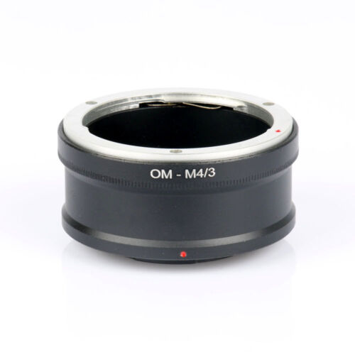 Olympus OM A MICRO 4//3rds Lente Adaptador Anillo M 4//3 Adaptador de Montaje Vendedor de Reino Unido