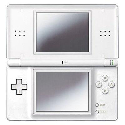 Nintendo DS Lite Polar White Handheld System Very Good Condition