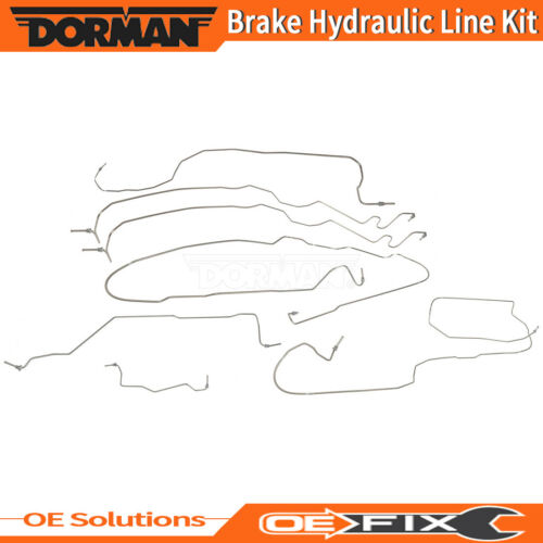 Dorman For 2002 CADILLAC ESCALADE Brake Hydraulic Line Kit Stainless Steel