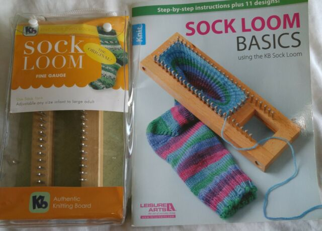 KB Authentic Hardwood Knitting Board Sock Loom 2 ...