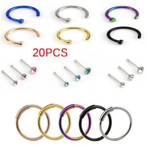 20pcs-set-acciaio-inox-perno-a-cerniera-segmento-cerchio-hoop-borchie-per-KT