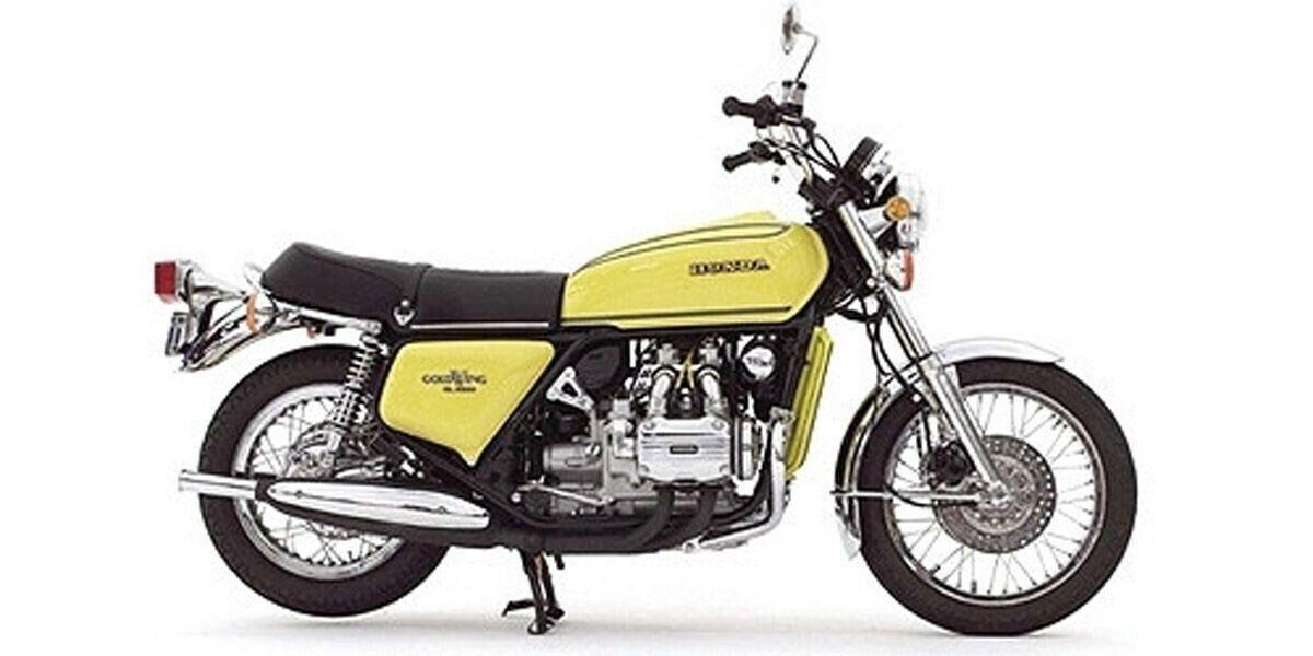 122161602 MINICHAMPS 1 12 Honda oro Wing GL 1000 K3 1975 giallo model cars