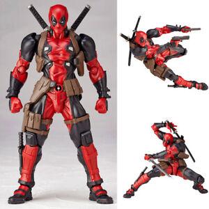 Kaiyodo-DEADPOOL-X-Men-Action-Amazing-Yamaguchi-Marvel-Revoltech-Figure-Toy-Gift