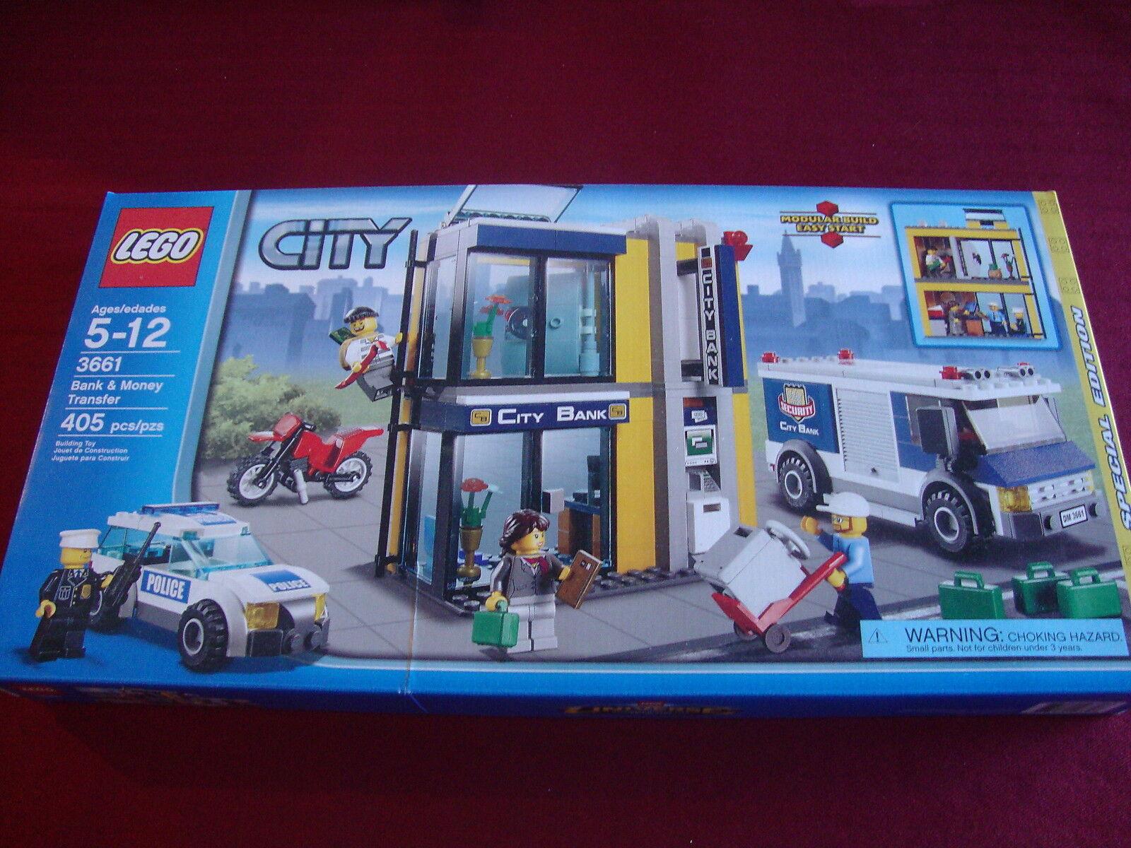 LEGO City Bank & Money Transfer  3661  - NEW UNOPENED - FACTORY SEALED